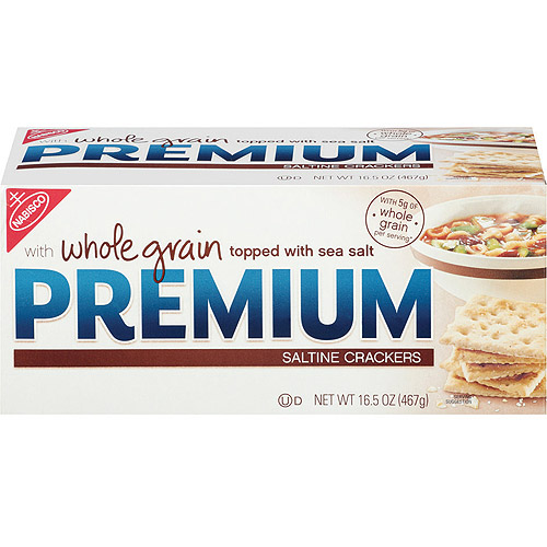 Nabisco Premium Whole Grain Saltine Crackers, 16.5 oz