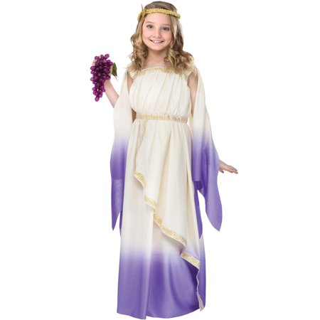 Hera Greek Goddess Costume (Goddess Child Costume)