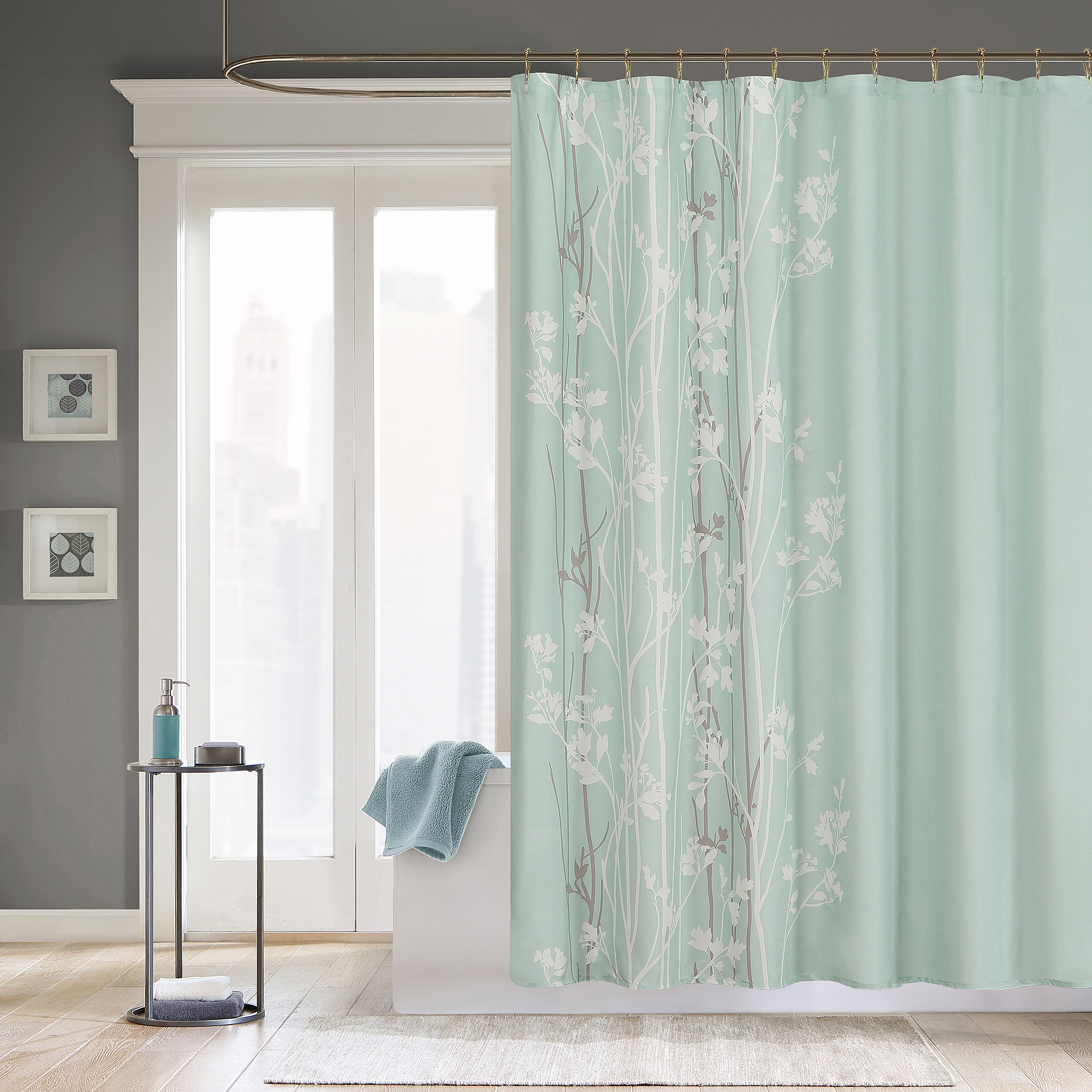 Home Essence Anna Shower Curtain