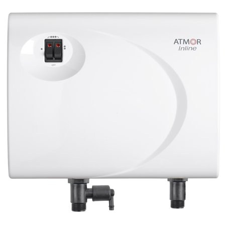 Atmor 13kw/240V Supreme Series Electric Tankless Instant Water Heater, Point of