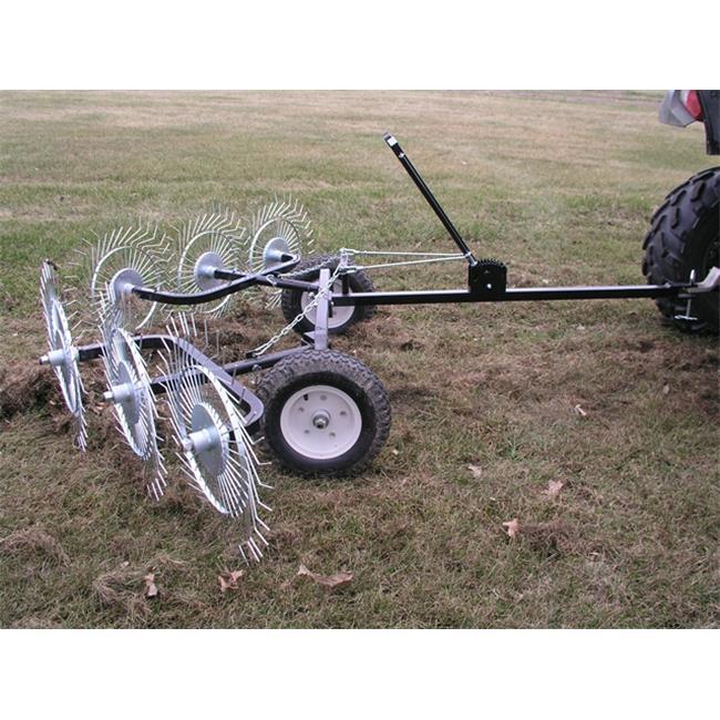 Yard Tuff ACR-500T V-Style Acreage Rake Dethatcher - 60 I...