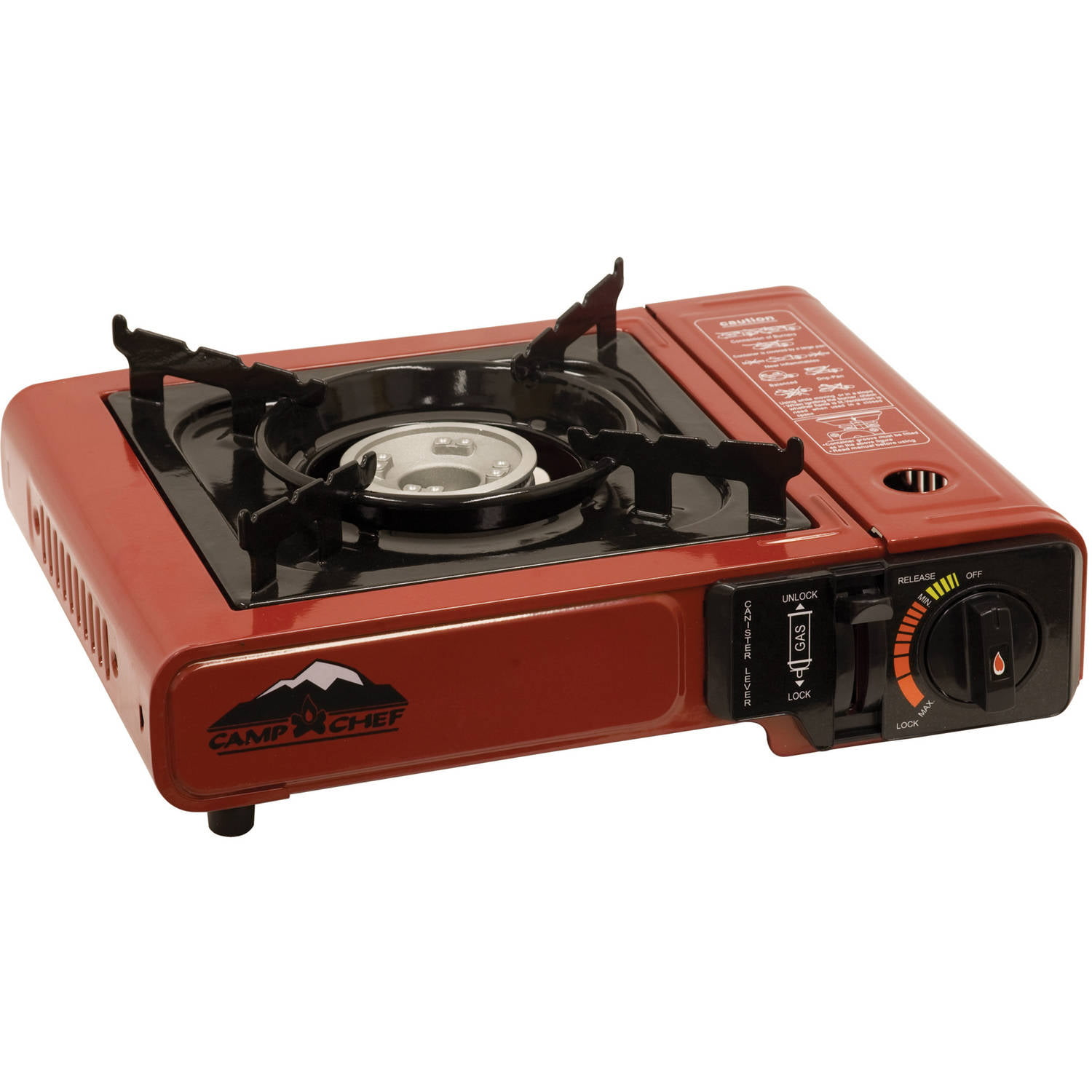 Beau Camp Chef Butane Matchless Ignition Single Burner Camp Stove   Walmart.com