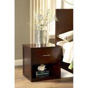 Modus Furniture International Modera 2-Drawer Nightstand, Chocolate Brown