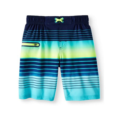 c938c1b0c41d3 Wonder Nation - Boys Fashion Swim Trunk (Little Boys & Big Boys) -  Walmart.com