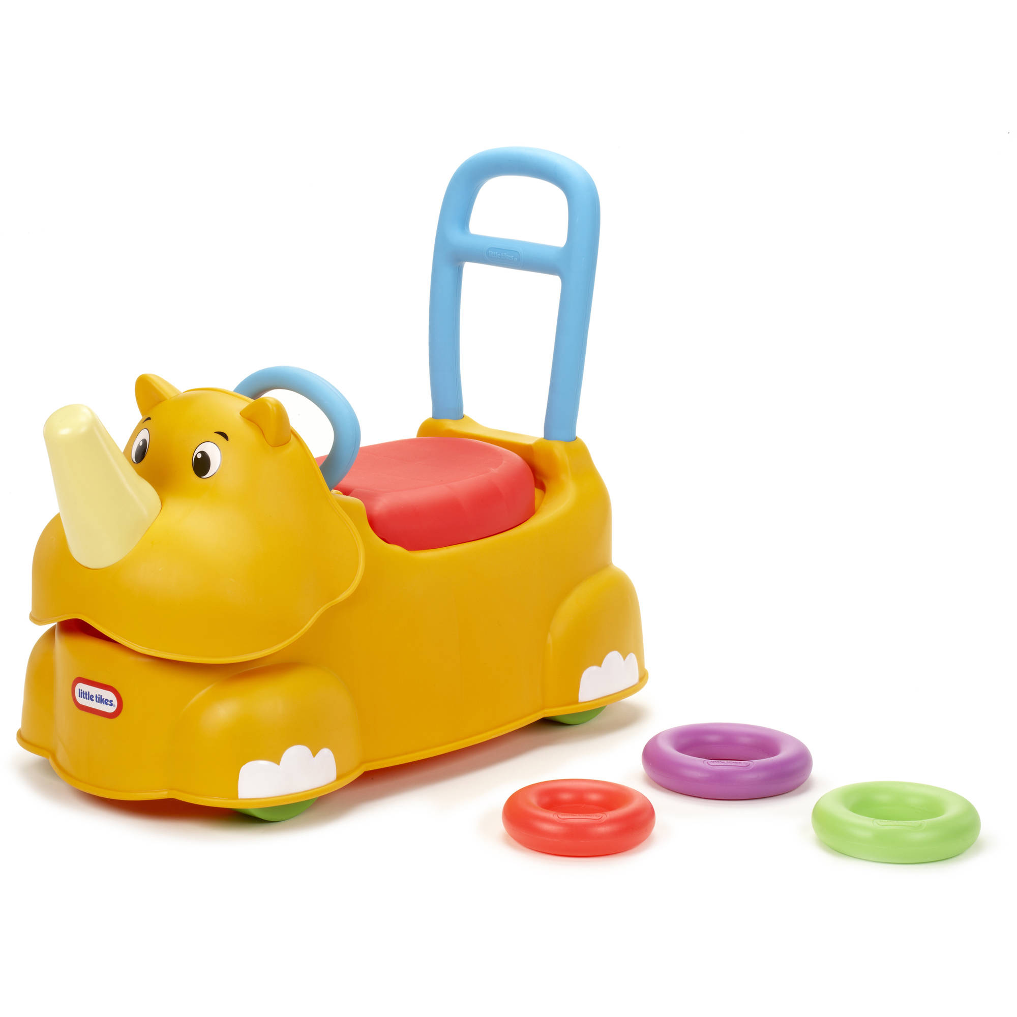 Little Tikes Scoot-Around Animal Riding Toy, Rhino