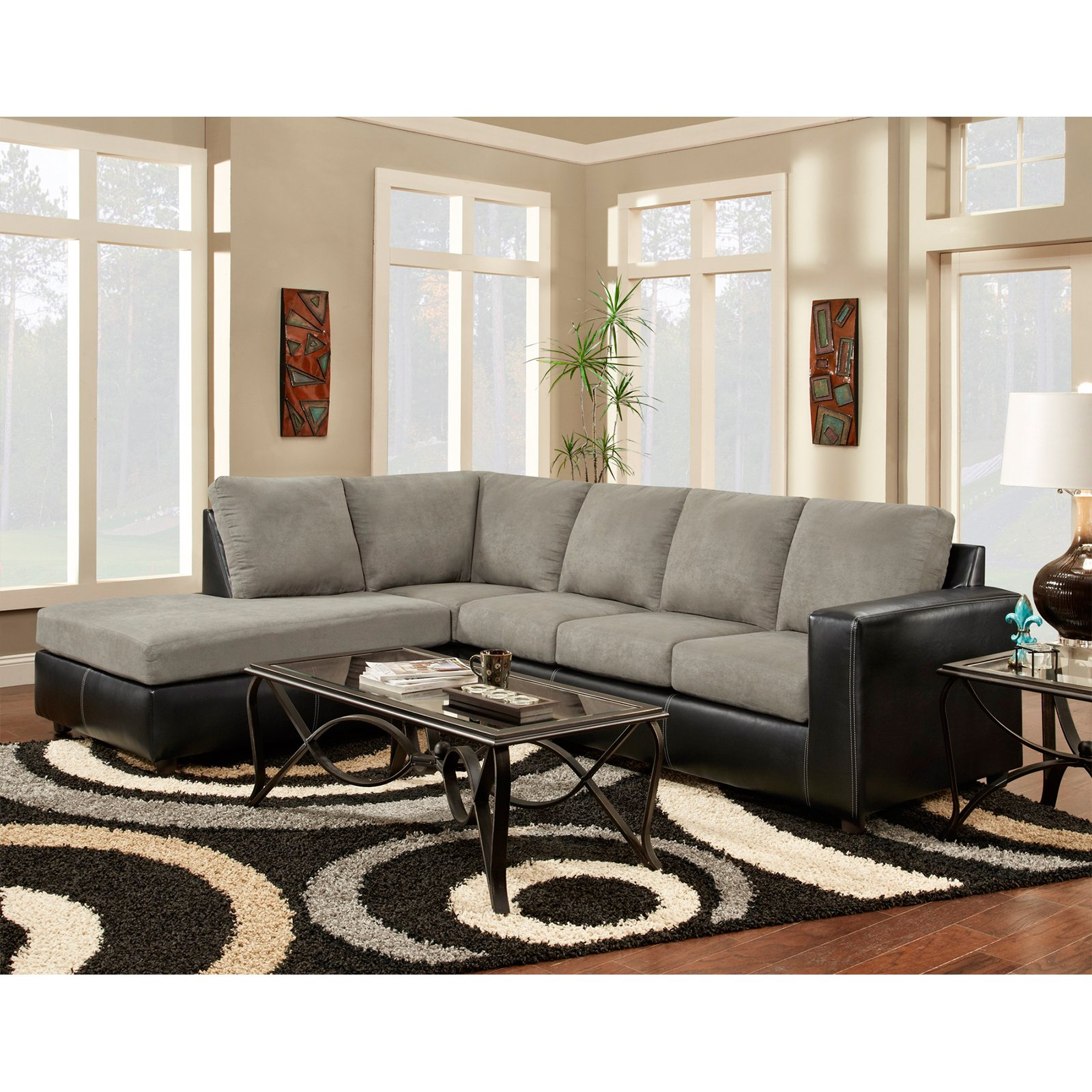 Chelsea Home Furniture Harford 2 Piece Sectional Sofa