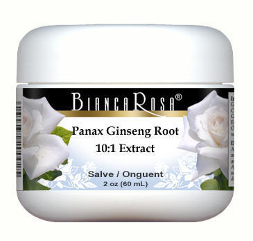 Extra Strength Panax Ginseng Root 10:1 Extract (30% Ginsenosides) - Salve Ointment (2 oz, ZIN: 514419)