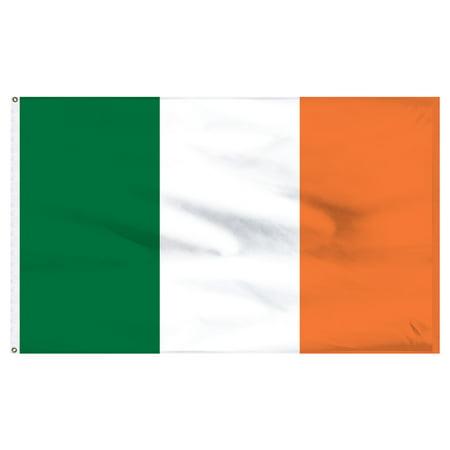 Ireland 5ft x 8ft Nylon Flag - Ireland Flags