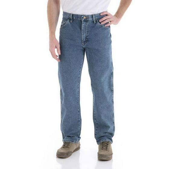 857353e9 Wrangler - Wrangler Men's Regular Fit Jeans - Walmart.com