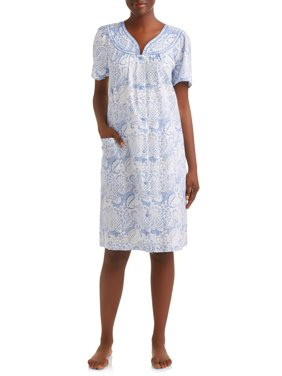 Lissome Women's and Women's Plus Woven Breakfast Gown