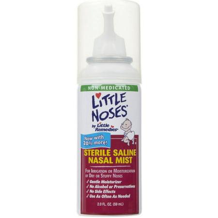 Little Noses Sterile Saline Nasal Mist  2 Oz  Pack Of 3