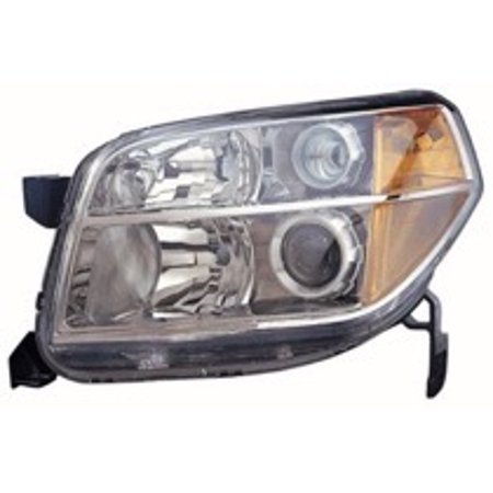Go-Parts » 2006 - 2008 Honda Pilot Front Headlight Headlamp Assembly Front Housing / Lens / Cover - Left (Driver) 33151-S9V-A11 HO2518110 Replacement For Honda Pilot
