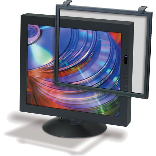 3m Optical Systems Division Ef200xlb Framed Anti Glare/rad Filter 16-19in Crt/ 17-18in Lcd Blk