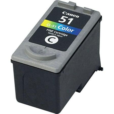 Canon CL51 (CL-51) Ink, Tri-Color
