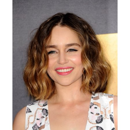Emilia Clarke At Arrivals For Mtv Movie Awards 2016   Arrivals 1 Warner Bros Studios Burbank Ca April 9 2016 Photo By Elizabeth Goodenougheverett Collection Photo Print