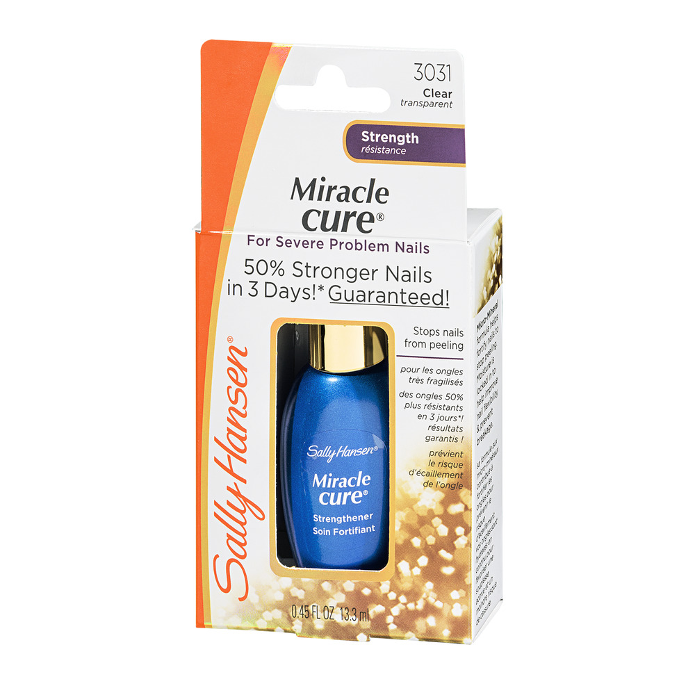 Sally Hansen Miracle, Cure for Severe Problem Nails, 0.45 Fluid ...