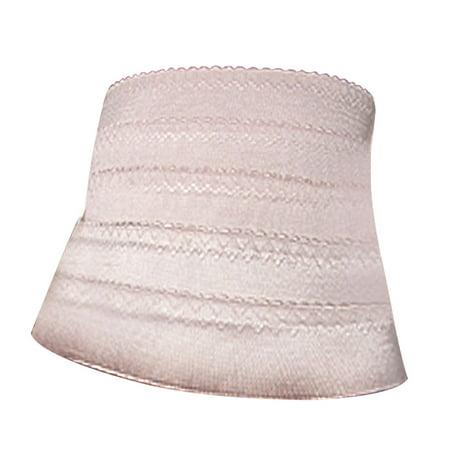 Femme Rose Pale élastique Plissé Garniture Ventre Corset Serre-taille Bande S - Les Tons de Rose, Femme, EU 38 - image 1 de 1