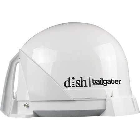 - KING DISH DT4400 Tailgater Fully Automatic Portable HD Satellite TV Antenna for RVs, Trucks, Tailgating, Camping and Outdoor