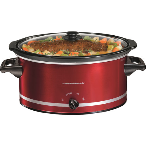 Hamilton Beach 8 Quart Extra-Large Capacity Slow Cooker | Model# 33184