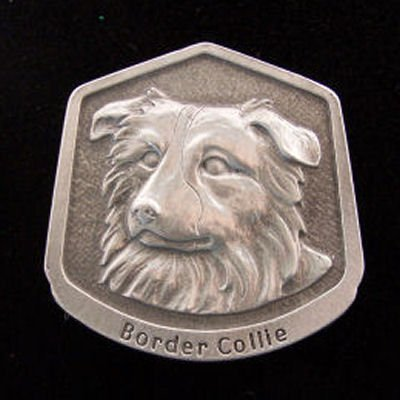 Border Collie Fine Pewter Dog Breed Ornament