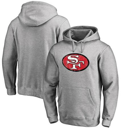 San Francisco 49ers NFL Pro Line Throwback Logo Pullover Hoodie - (Nhl Sweatshirt)