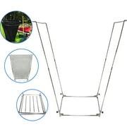 EasyGo Trash Bag Holder – Leaf Bag Stand – Multi-Use Garbage Bag Holder Frame - Holds 30 - 45 Gallon Bags
