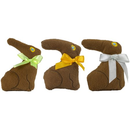 Plush Chocolate Bunnies - Easter & Novelty Toys & Games