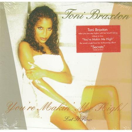 You're Making Me High - Toni Braxton (CD) (She Aint Got Nothing On Me Toni)