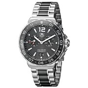 Tag Heuer Men's Formula 1 Grande Date Alarm 41mm Watch WAH111C.BA0850