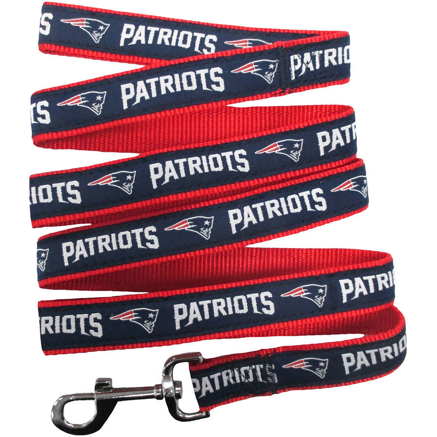 Pets First NFL New England Patriots Pet Leash