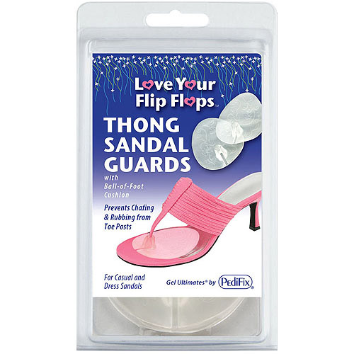 PediFix Love Your Flip Flops Thong Sandal Guards with Ball-of-Foot Cushion