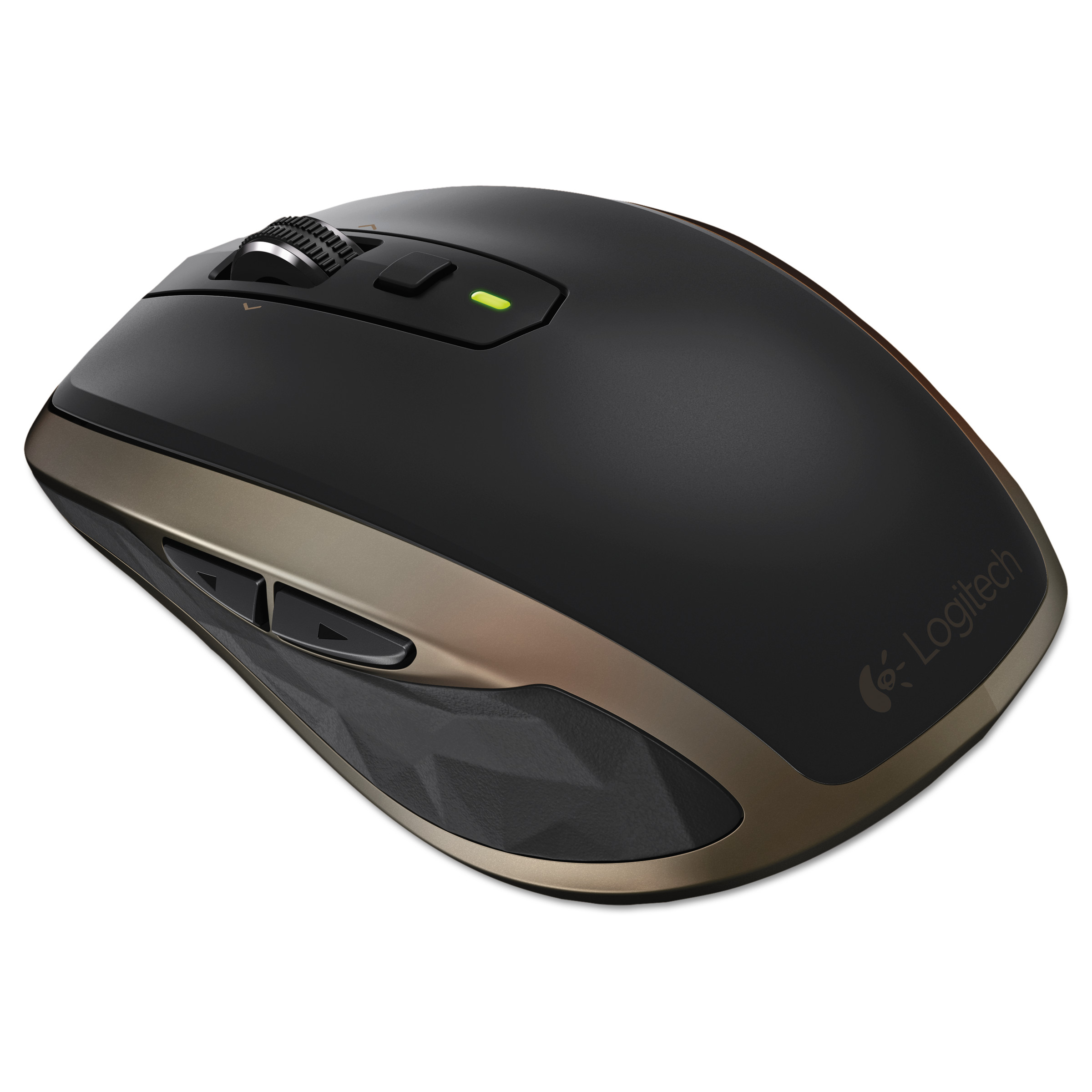 Logitech Anywhere Mouse MX, Wireless, Glossy Finish, Black by Logitech