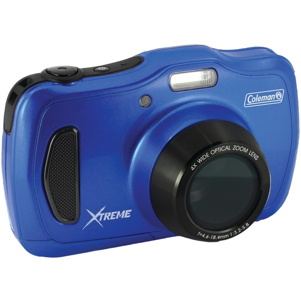 Coleman C30WPZ-BL 20.0 Megapixel Xtreme4 HD Waterproof Digital Video Camera (Blue) by Coleman