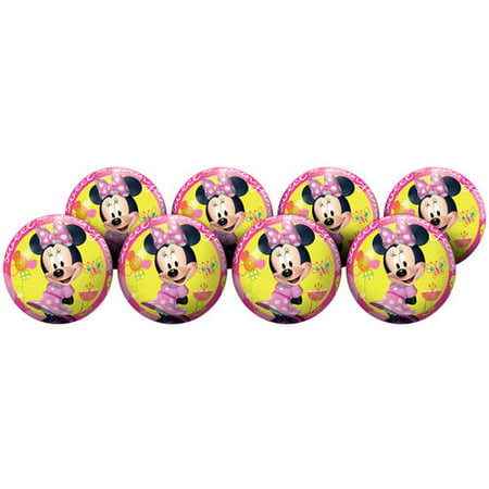 Hedstrom #4 Minnie Mouse Playball Deflate Party Pack](Party Supplies Minnie Mouse)