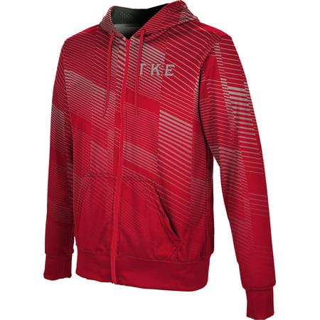 Kappa Classic Sweatshirt (ProSphere Men's Tau Kappa Epsilon Bold Fullzip Hoodie)