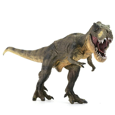 Vivid Tyrannosaurus Rex Jurassic Dinosaur Toy Figure Animal Model Kid Halloween - Toy Kingdom Halloween Events