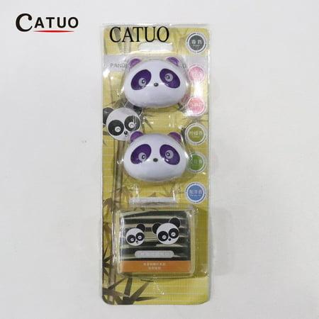 Cute Panda Auto Car Air Freshener Clip Perfume Diffuser for Car Home - image 4 of 13