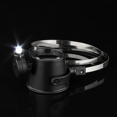 15X LED Magnifier Eye Loupe HeadBand Jewelers Magnifying Glass Watchmakers - image 6 of 12