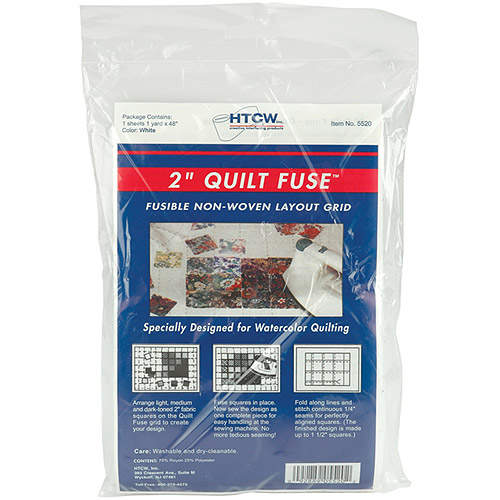 "Quilt Fuse Fusible Nonwoven Layout Grid-48"" x 36"" by Cotswold"