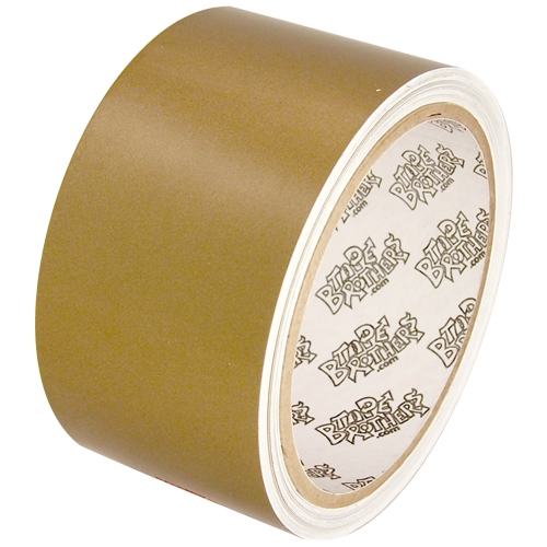 """Tape Planet 3 mil 2"""" x 10 yard Roll Gold Outdoor Vinyl Tape"""