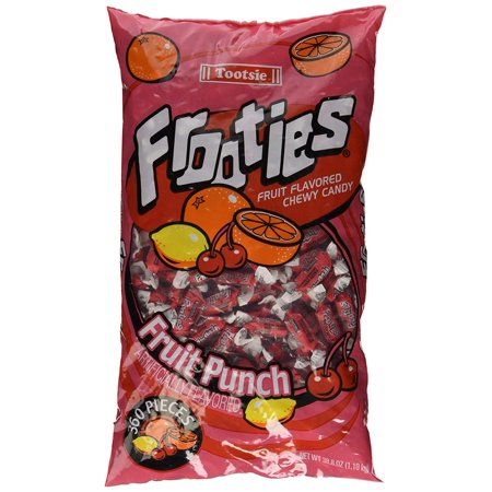 360 Piece Bag Fruit Punch, Ships fast and fresh!! By Frooties](Blue Frooties)