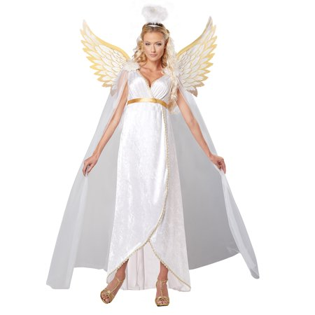 An Angel Costume (Adult Female Guardian Angel Costume by California Costumes)