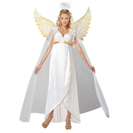 Adult Female Guardian Angel Costume by California Costumes 01323 - Angels Costume Sale