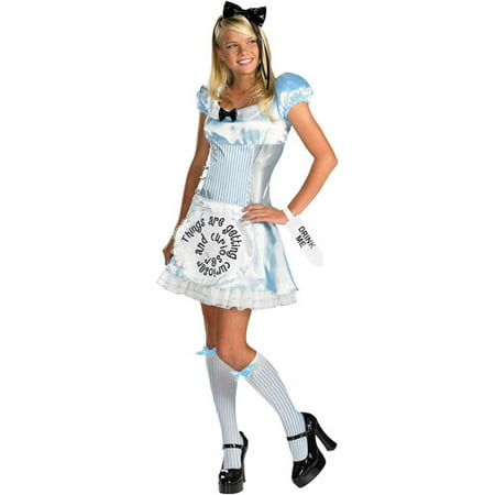 Alice in Wonderland Adult Halloween Costume (White Rabbit Halloween Costume Alice Wonderland)