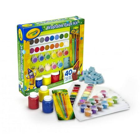 crayola washable kids paint activity set 40 pieces - Images To Paint For Kids