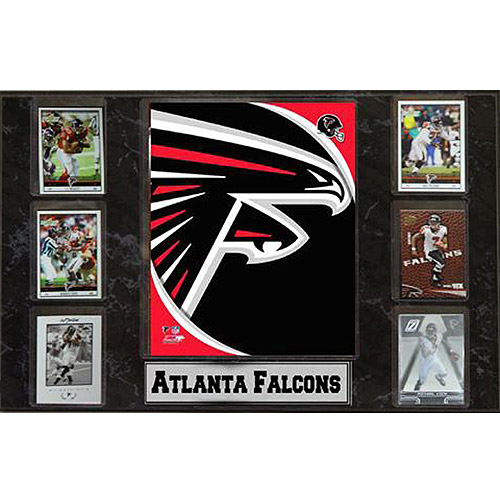 NFL Atlanta Falcons 6-Card Plaque, 13x20