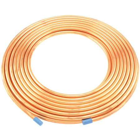 6363206859800 Copper Refrigeration Tubing, 50ft Roll (3/8