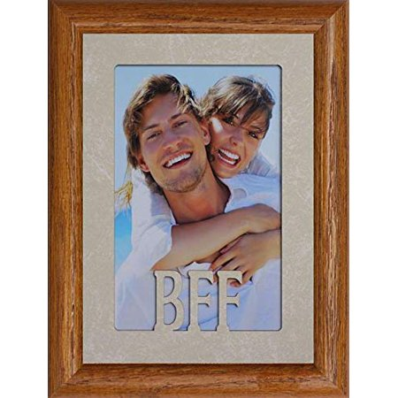 BFF ~ Best Friends Forever Portrait Picture Frame ~ Holds A 4X6 Or Cropped 5X7 Picture ~ Wonderful Keepsake Gift For A Best Friend!