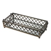 Sterling Industries 114-93 Metal Frame Mirrored Tray