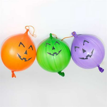Jack O Lantern Halloween Punch Balls - 12 per - Halloween Punch Alcoholic Vodka